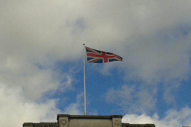 GB Flagge Rossmann