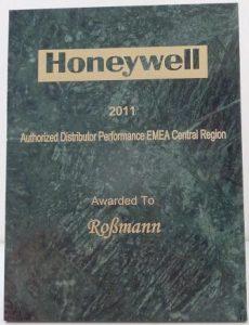 Auszeichnung Honeywell Roßmann